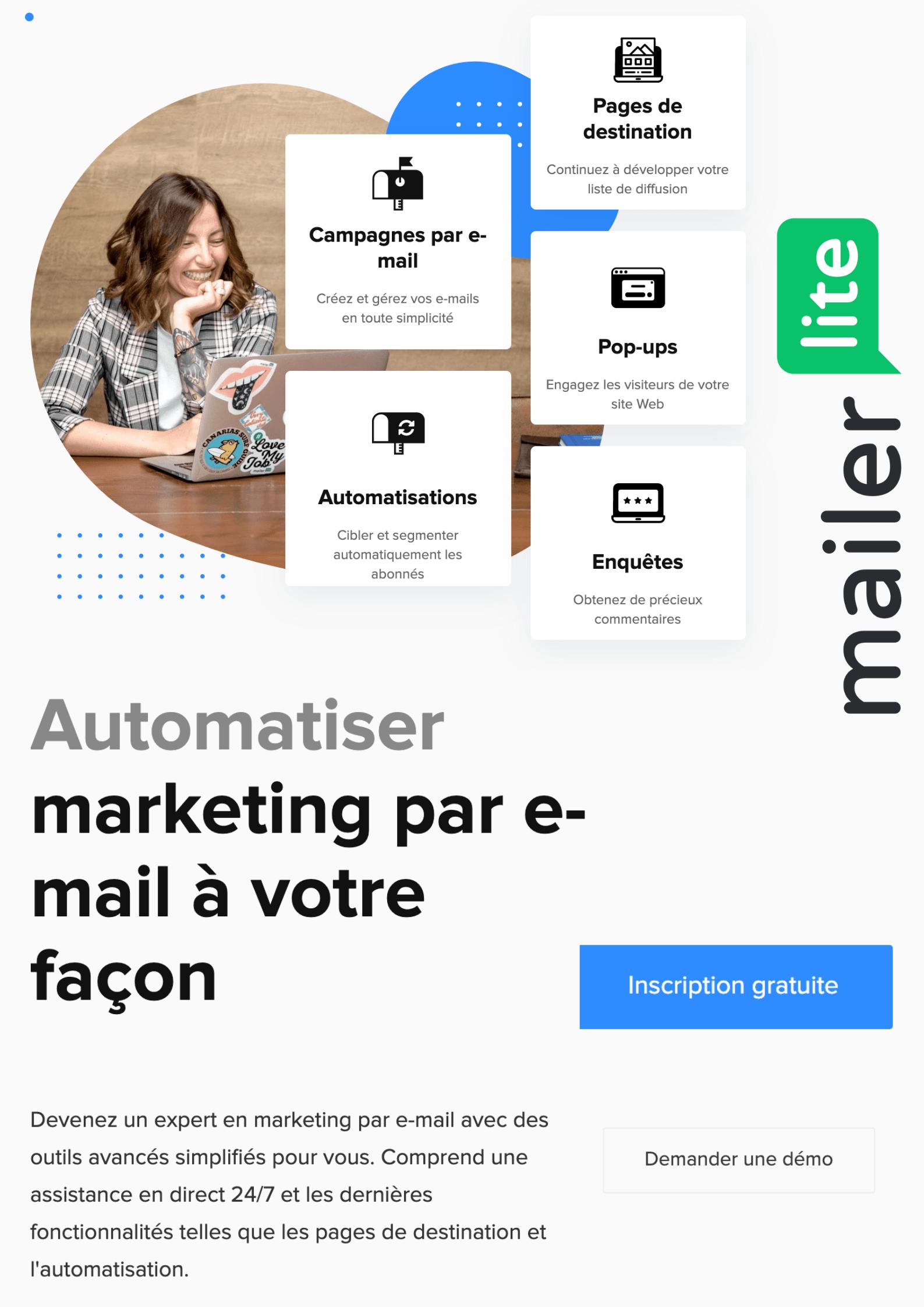 mailerlite francais code promo